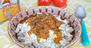 Eggplant Sauce Manti Recipe
