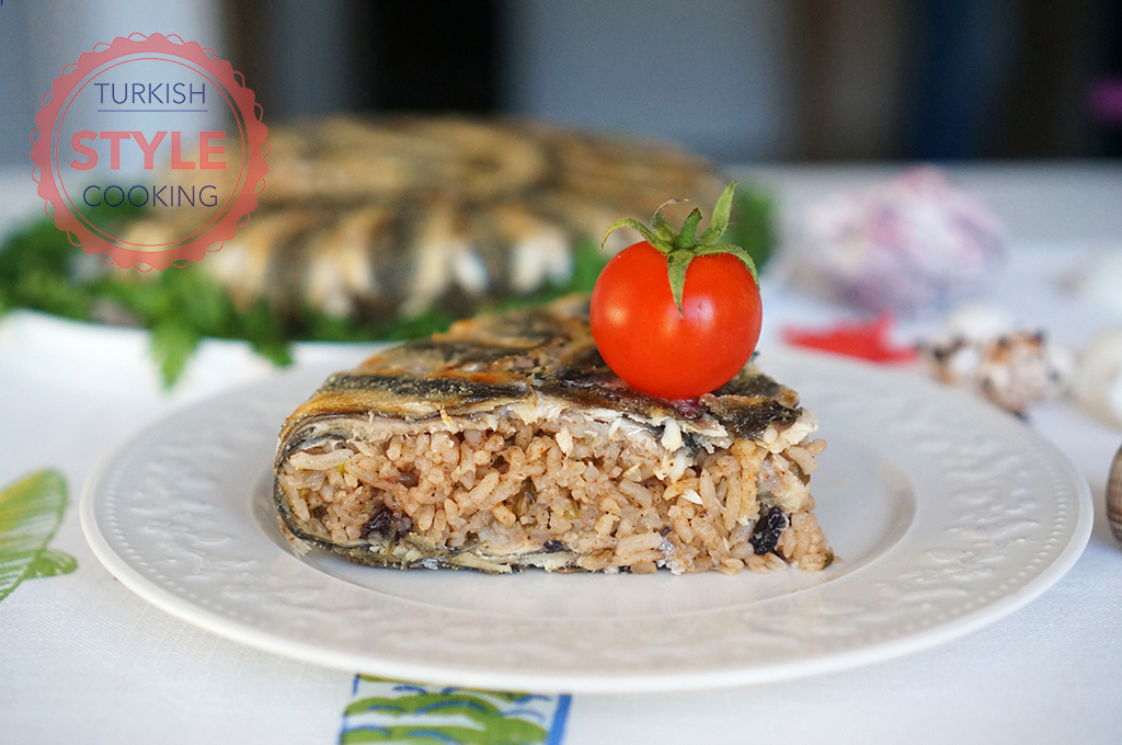 Baked Anchovy Pilaf Recipe