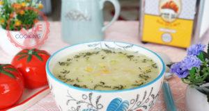 Zucchini Vermicelli Soup Recipe
