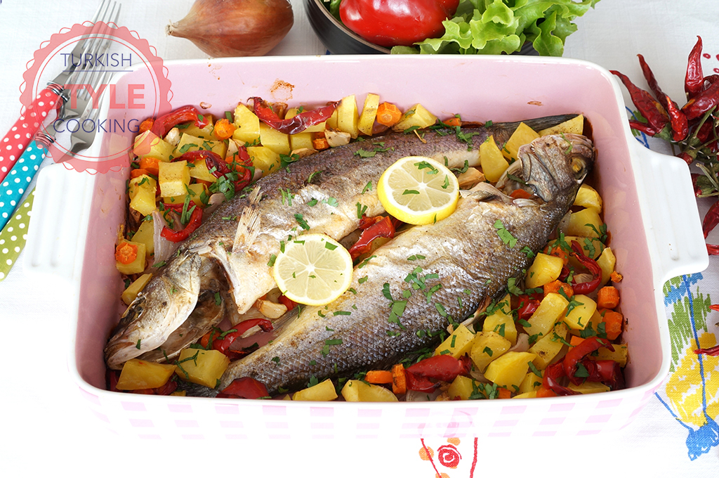 Baked Sea Bass Recipe