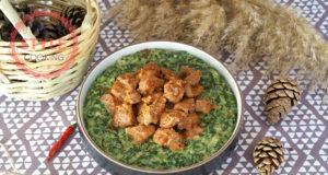 Spinach Hunkar Begendi Recipe