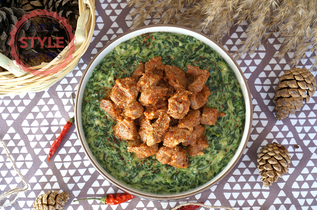 Spinach Hunkar Begendi Recipe