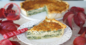 Spinach Pizza Borek Recipe
