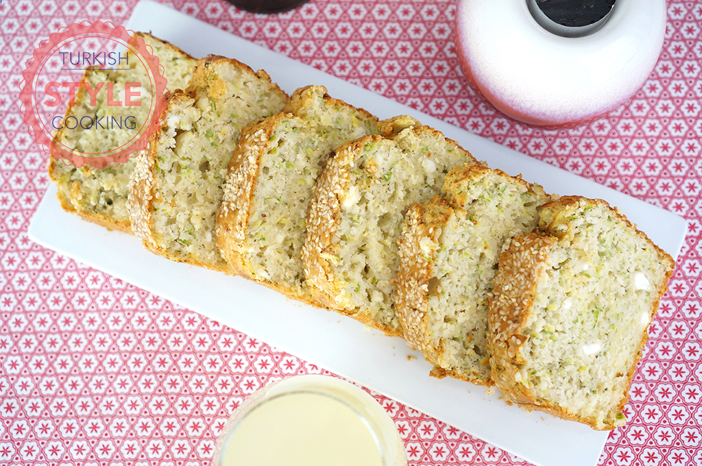 Zucchini and Cheese Breakfast Cake Recipe