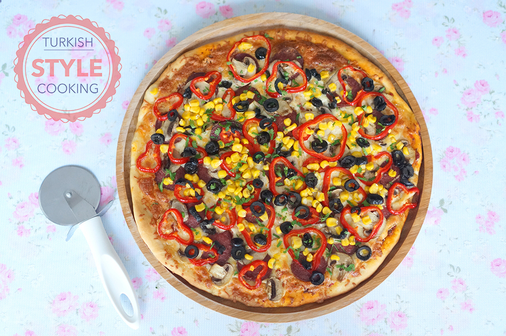 Pizza Recipe Turkish Style Cooking