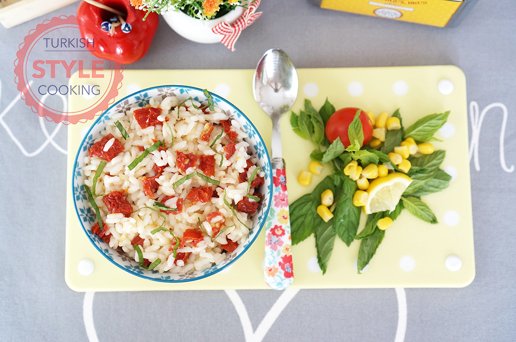 Sun Dried Tomatoes Pilaf Recipe