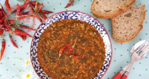 Purslane With Bulghur Wheat Recipe