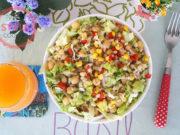 Chickpea Lettuce Salad Recipe