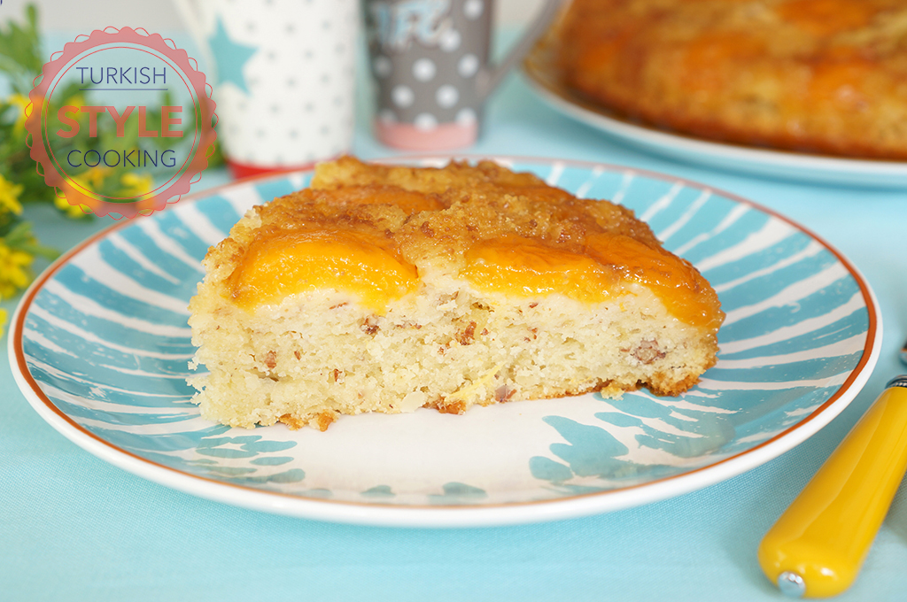 Apricot Upside Down Cake Recipe