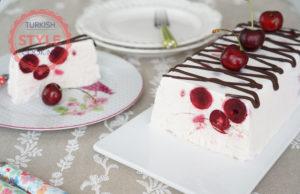 Frozen Sour Cherry Parfait Recipe