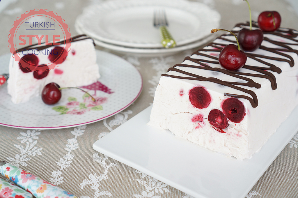 Frozen Sour Cherry Parfait Recipe