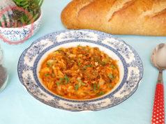 Ground Beef Kapuska (Cabbage Stew) Recipe