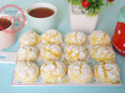 Lemon Crinkle Cookies Recipe