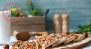 Turkish Ground Beef Pide (Flat Bread) Recipe