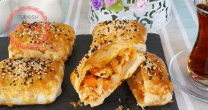 Crispy Chicken Borek Recipe