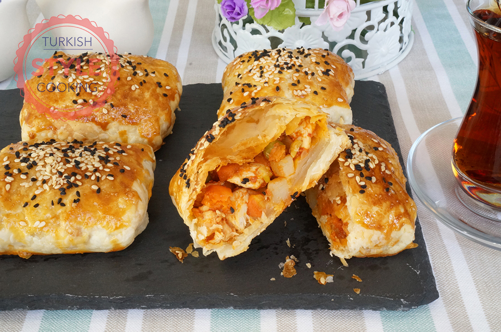 Crispy Chicken Borek Recipe
