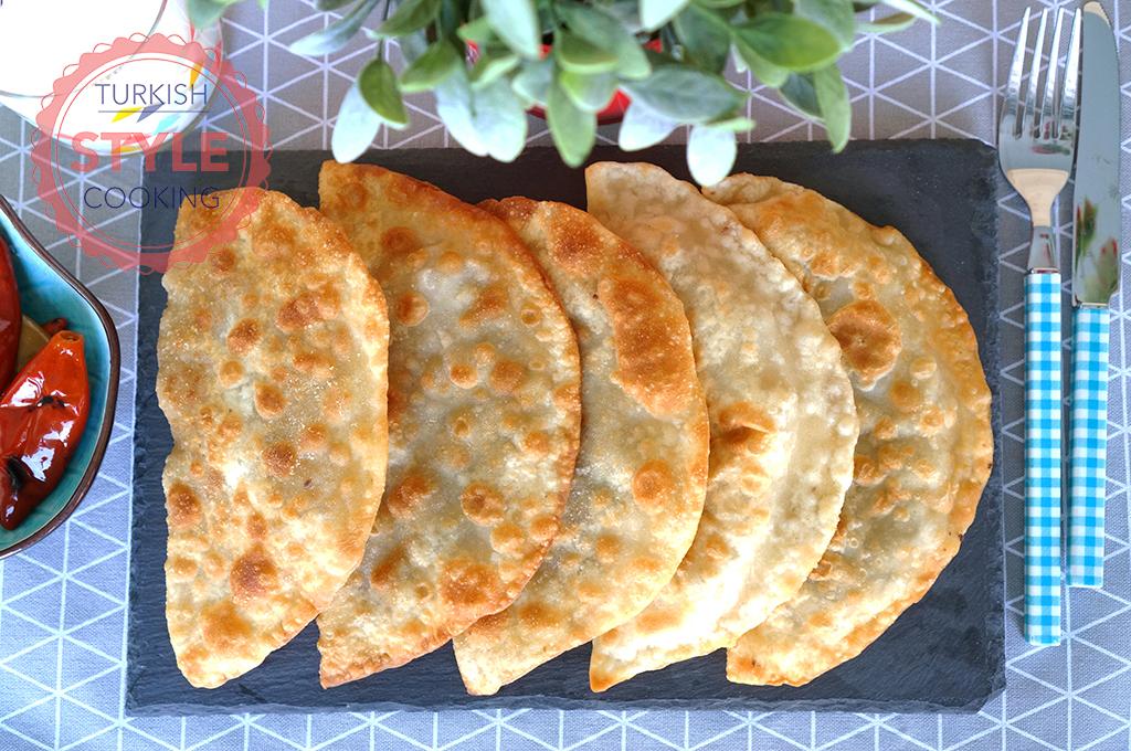Fried Ground Meat Börek (Çiğ Börek) Recipe