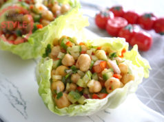 Chickpea Salad With Onions