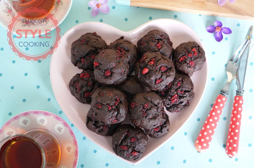Raspberry Diet Cookies