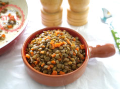 Sauteed Green Lentil Recipe