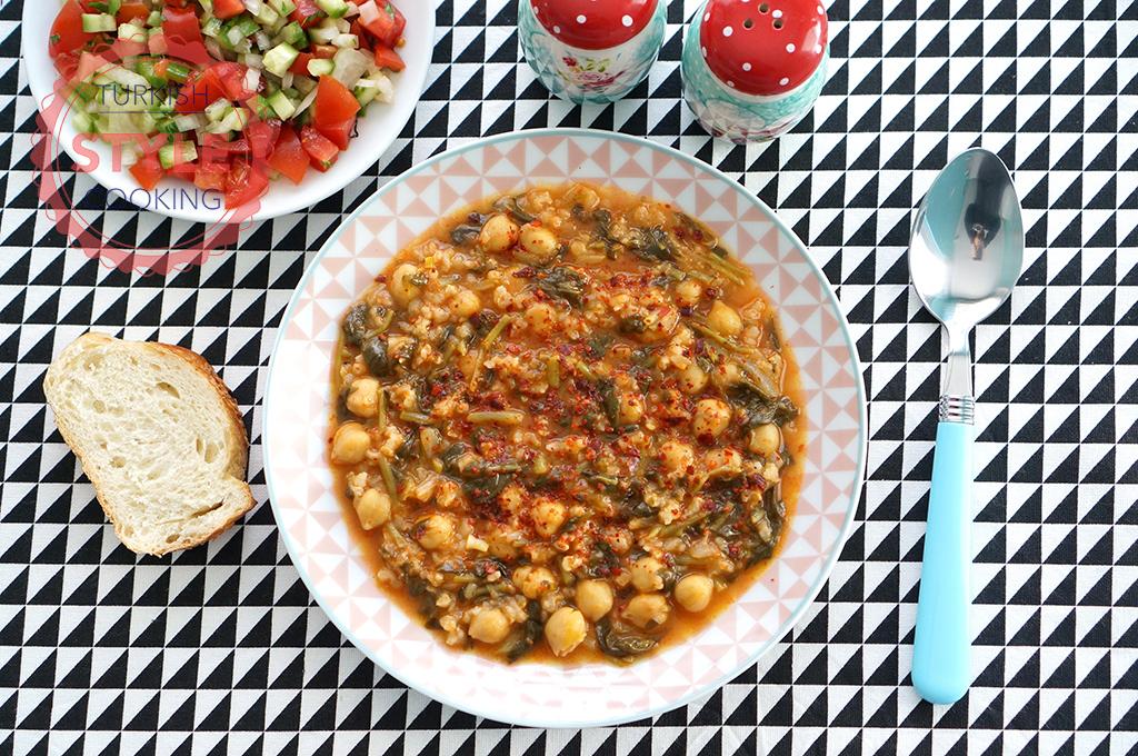 Chickpea Purslane Recipe