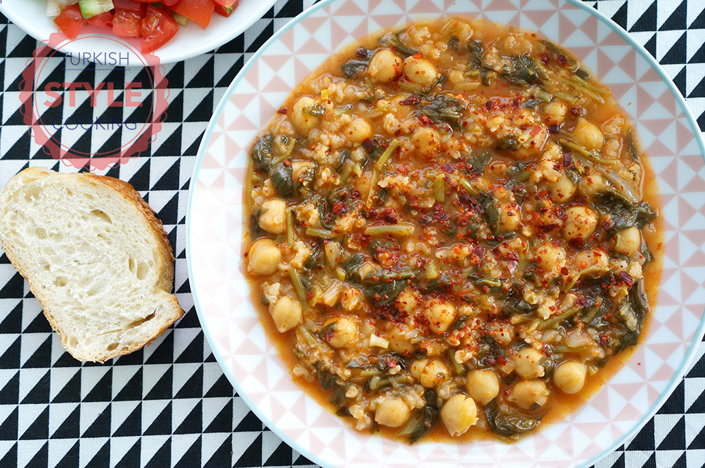 Chickpea Purslane Recipe