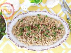 Tahini Eggplant Salad Recipe