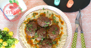 Beef Kofta With Hummus
