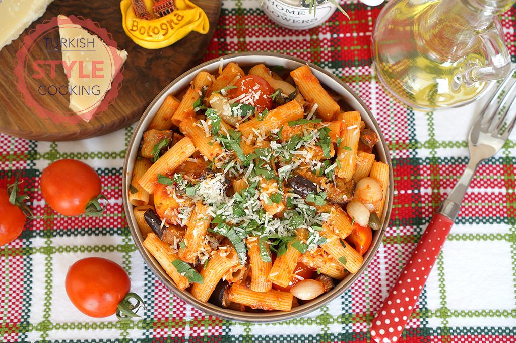 Rigatoni Puttanesca Recipe