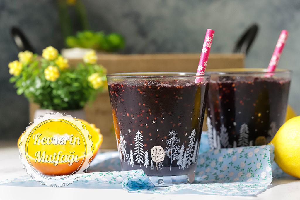 Frozen Black Mulberry Recipe