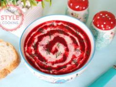 Creamy Beet Soup Recipe
