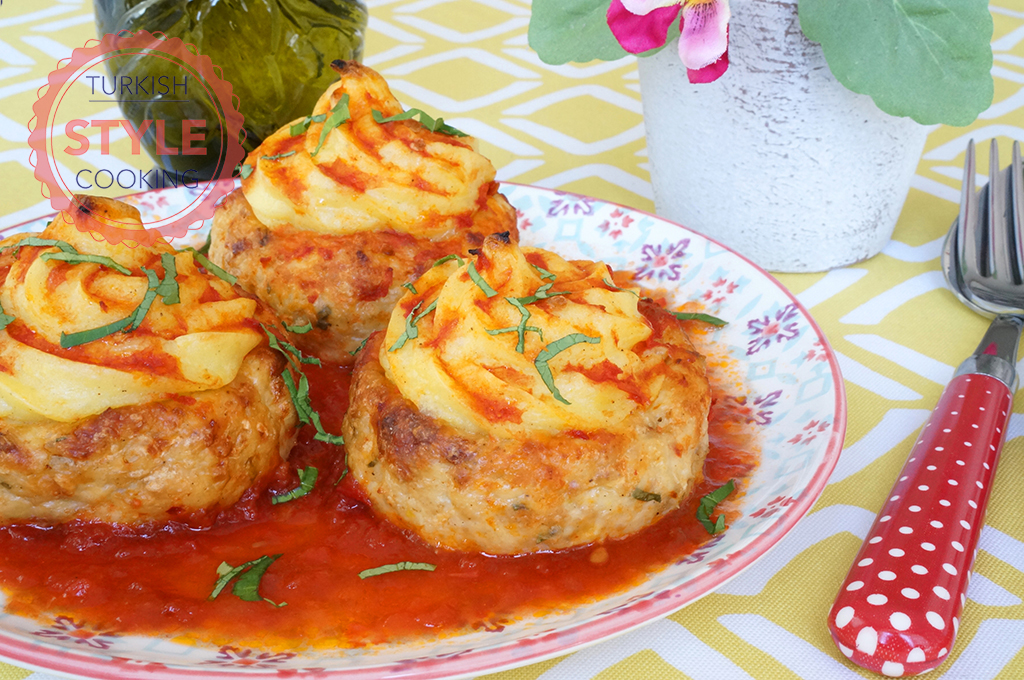 Chicken Kofta With Potato Puree (Hasan Pasha Kofta) Recipe