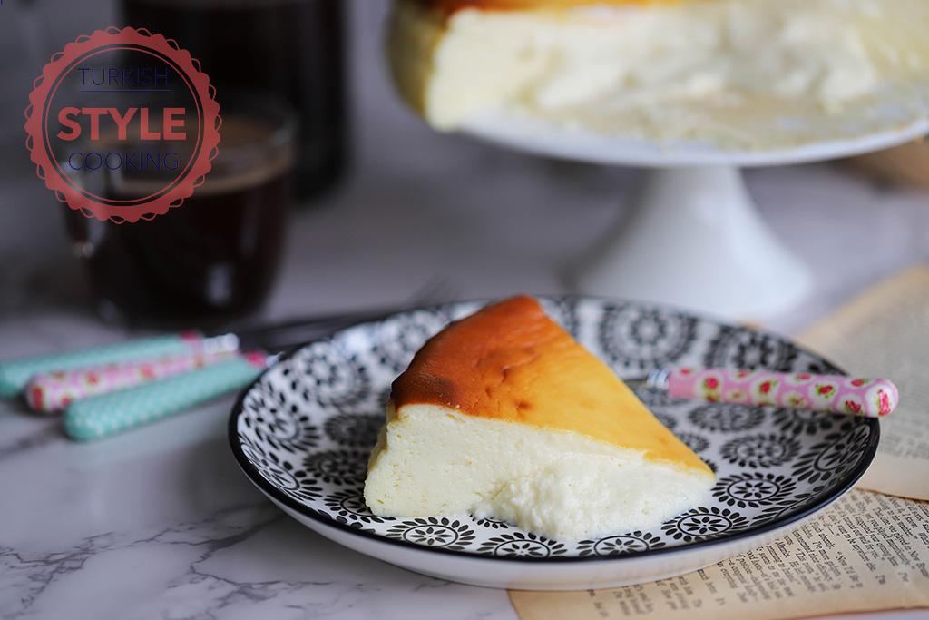 San Sebastian Cheesecake Recipe Turkish Style Cooking