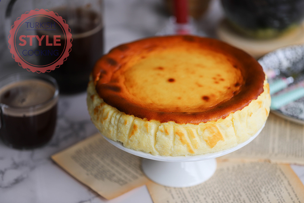 San Sebastian Cheesecake Recipe Turkish Style Cooking