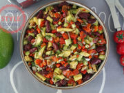 Avocado Red Bean Salad Recipe