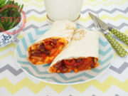 Mexican Bean Wrap Recipe
