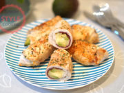 Avocado Filled Chicken Rolls Recipe