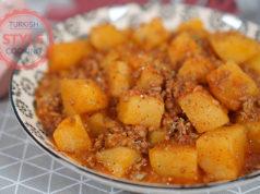 Ground Beef Potato Stew
