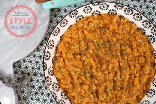 Cabbage Stew With Bulgur