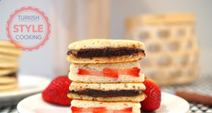 Chocolate and Strawberry Filled Pancakes Recipe