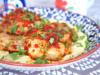 Hot Chicken With Humus