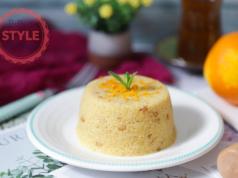 Semolina Halva With Orange Peels