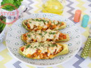Chicken Zucchini Boats Recipe