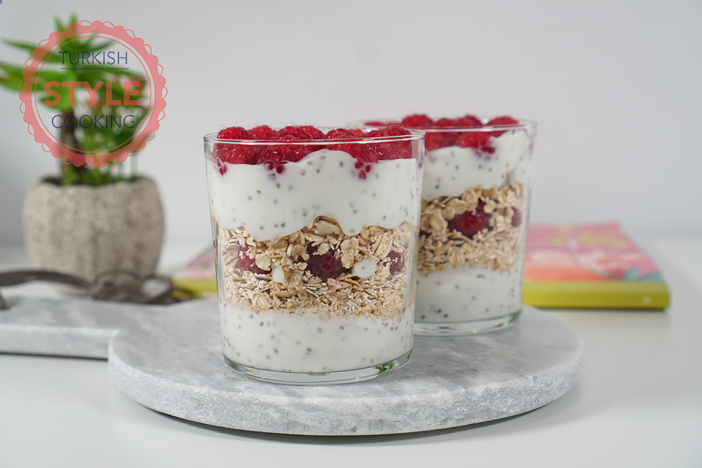 Yogurt Cups for Breakfast