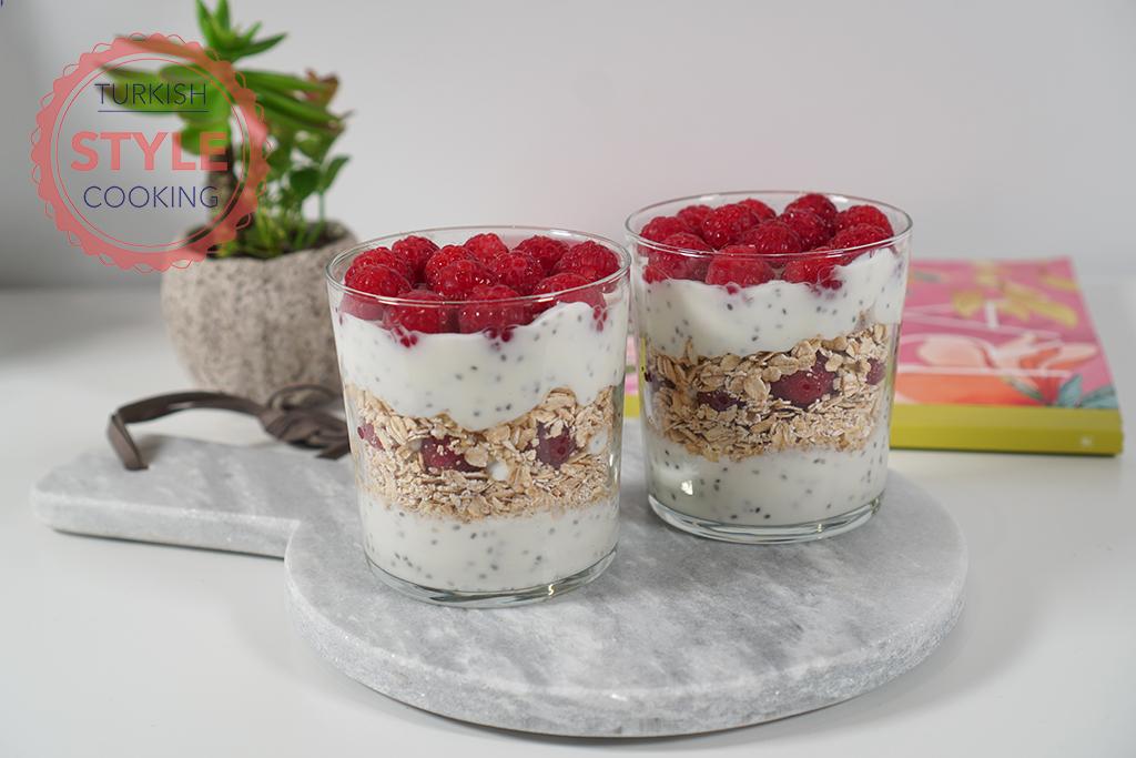 Yogurt Cups for Breakfast