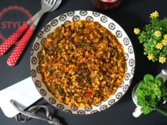 Swiss Chard Stew With Bulgur