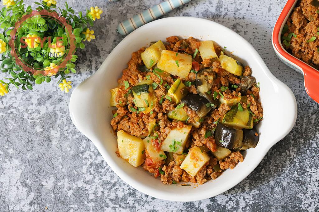 Mixed Vegetable Musakka Recipe