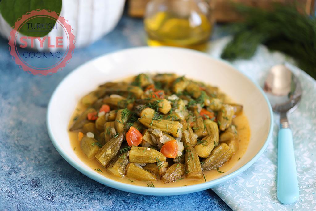 Olive Oil Okra Recipe