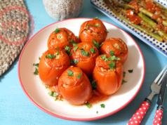 Baked Tomato Dolma Recipe