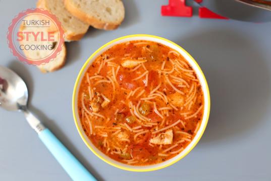 Chicken Vermicelli Soup Recipe